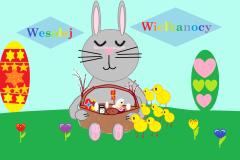 Konkurs na kartkę Wielkanocną w programie Paint