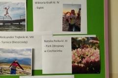 """,,Nasze wakacyjne wspomnienia""""  konkurs - październik"""
