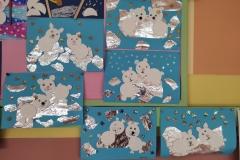 Zimowe inspiracje plastyczne w naszej szkole