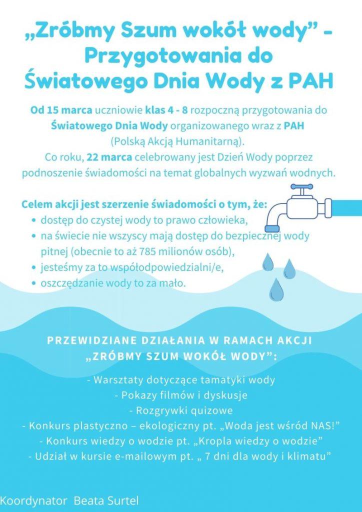 Logo światowego dnia wody