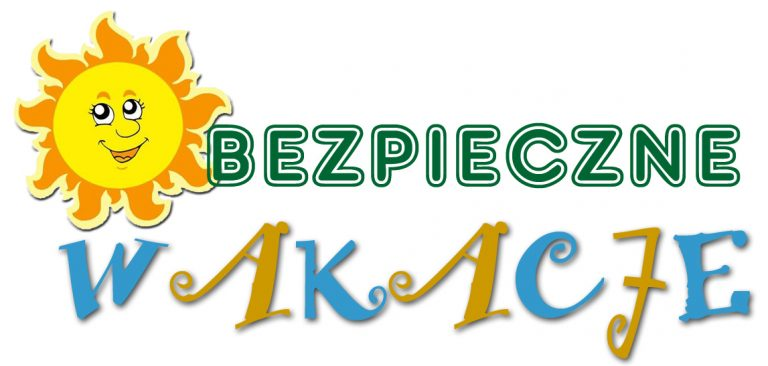logo bezpieczne wakacje
